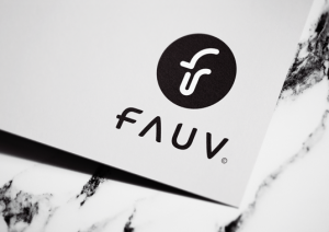 Fauv logo design and graphic design services by matjac design, Newcastle Australia.
